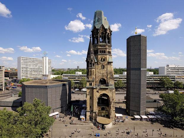 Часть разрушенной берлинской церкви кайзера Вильгельма превратили в мемориал жертвам войны
