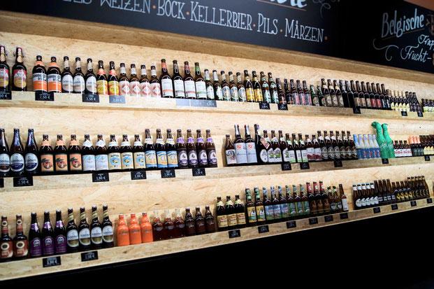 В этом пивном раю продаются не только бутылки с лучшим немецким пивом, но и все необходимые ингредиенты для приготовления пива дома