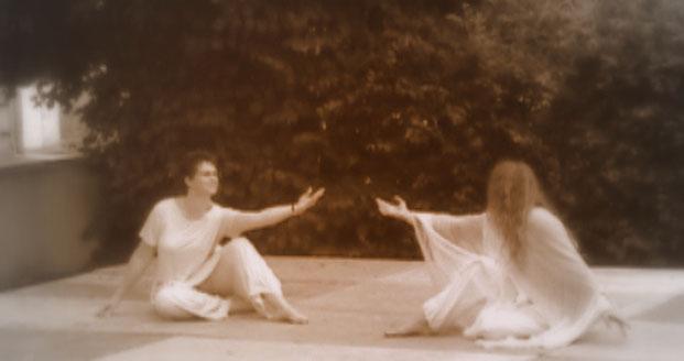 Fabienne et Drachin Danse la Lumière2012