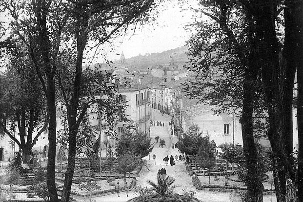 Ingresso centro storico di Larino