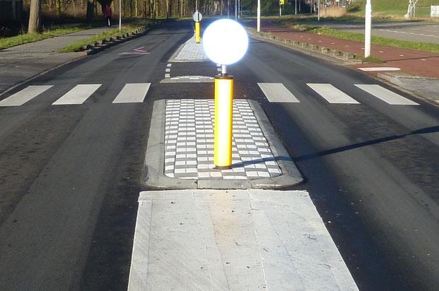 Het nieuwe zebrapad werd aangelegd na vragen van Onafhankelijk Papendrecht