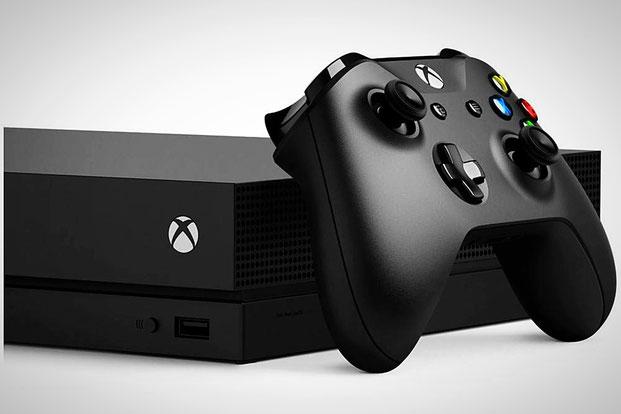 Xbox One X mit Controller - Schwarz