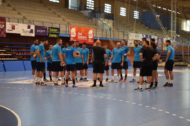 El equipo durante una sesión de trabajo / Foto: Edwin van't Hek