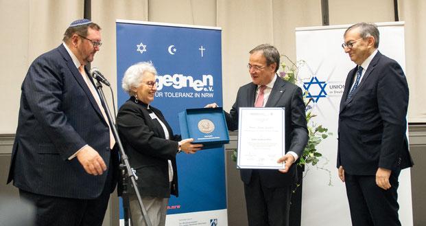 Armin Laschet, Union Progessiver Juden, Liberale Juden