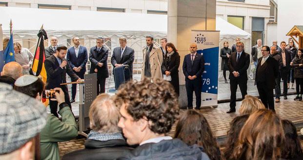EUJS, Europäische Union der Jüdischen Studenten, Halle, Ruben Gerczikow, Sergei Lagodinski, Sergey Lagodinsky