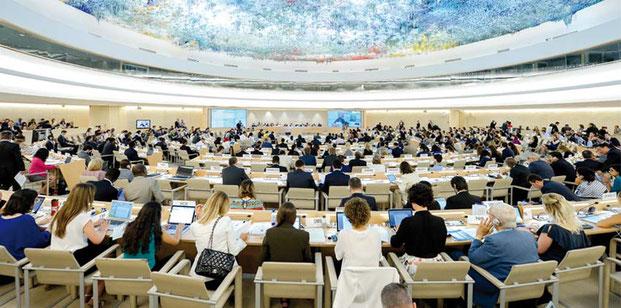 65 mal wurde Israel im UN-Menschenrechtsrat angeprangert, so oft wie kein anderes Land der Welt. Foto UN Photo/Jean-Marc Ferré