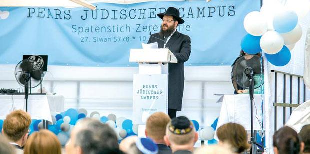 Pears Jüdischer Campus, Berlin, Rabbiner Yehuda Teichtal, Chabad