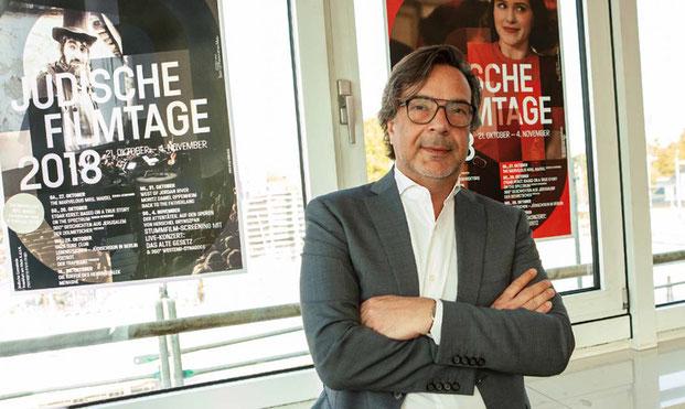 Dr. Marc Grünbaum, Kulturdezernent Jüdische Gemeinde Frankfurt
