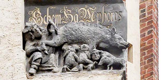 Judensau, Wittenberg, Stadtkirche, Michael D. Düllmann, Prozess