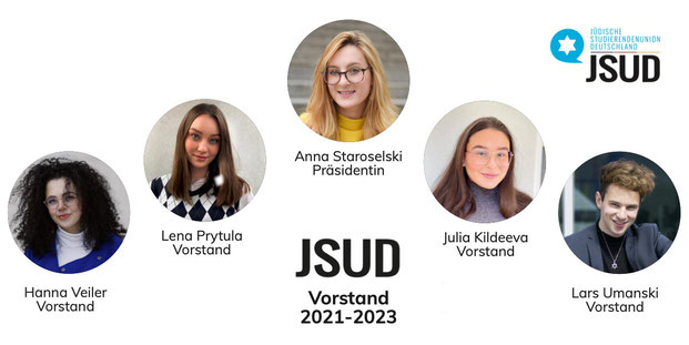 JSUD, Hanna Veiler, Lena Prytula, Anna Staroselski, Julia Kildeeva, Lars Umanski, Wahl