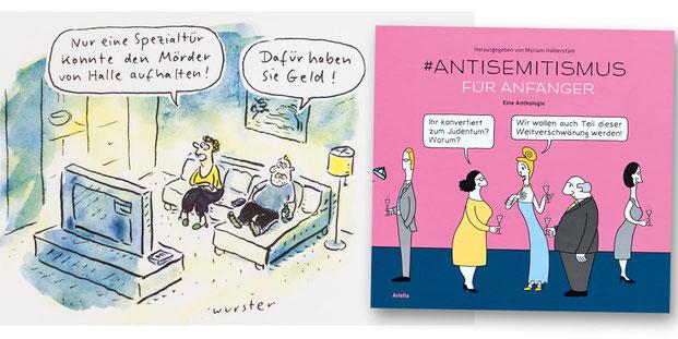 #Antisemitismus für Anfänger, Antisemitismus für Anfänger, Ariella Verlag, Myriam Halberstam, Miriam Wurster