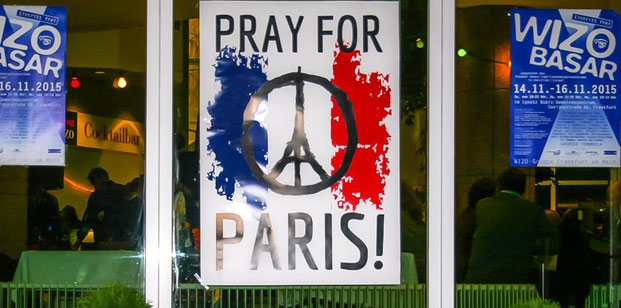 Auch die Frankfurter WIZO gedenkt der Opfer des islamistischen Terrors.