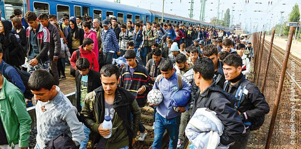 Der Flüchtlingsstrom reißt längst noch nicht ab. In wieweit wird dies die Gesellschaft verändern?