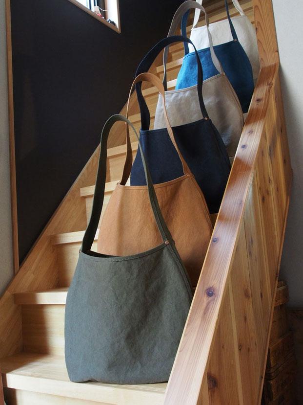京都 かばん 革 バッグ 帆布 工房