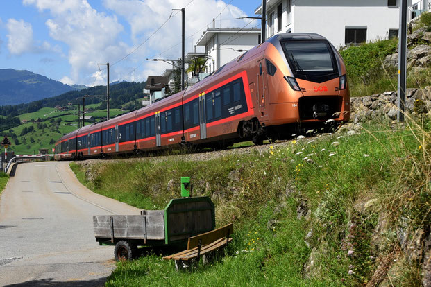 SOB Südostbahn 526 Bahnfoto P.Trippi