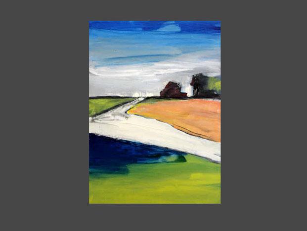 Landschaftsbild pastell