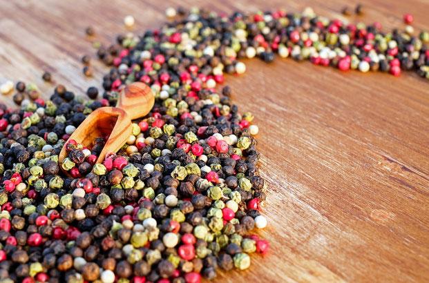 Pfeffer - Heilpflanze für Verdauung und Appetit