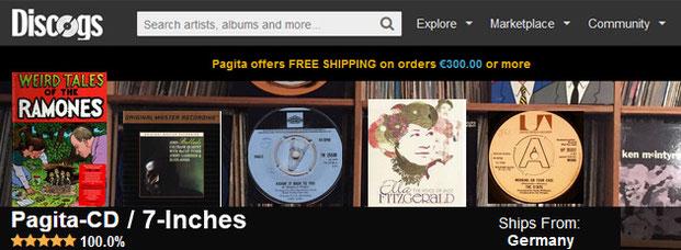 PagitaRecords Online-Shop l Angebot