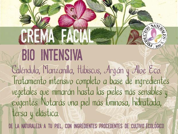crema facial bio intensiva-cosmética natural ecológica