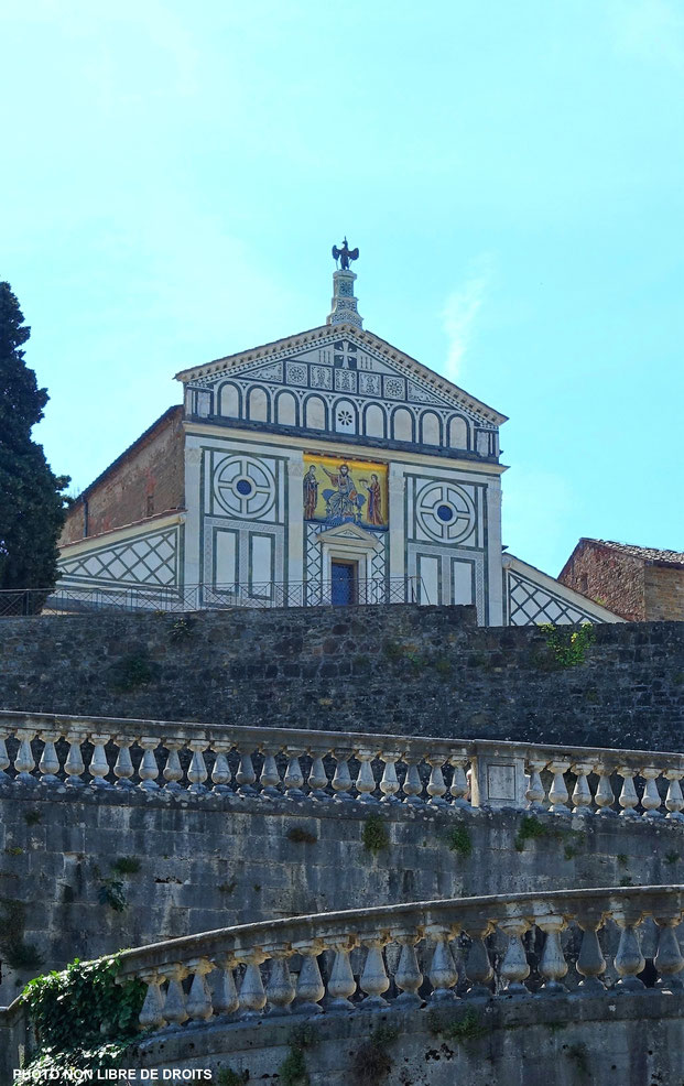 Chiesa San Miniato al Monte, Florence, photo non libre de droits