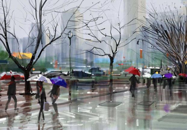 Цифровая городская живопись