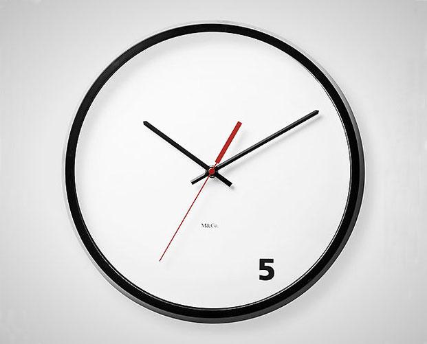 дизайн настенных часов