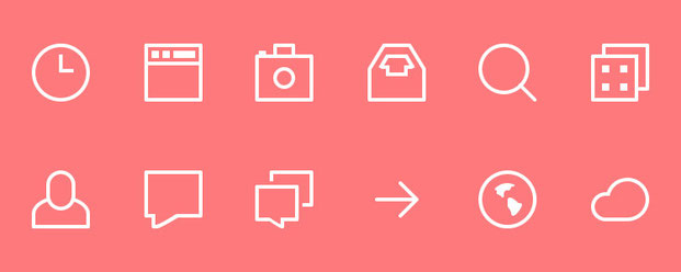 Наборы иконок в формате PSD