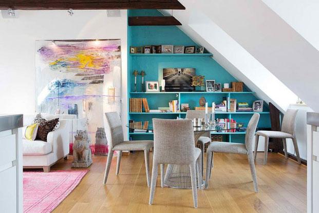 аттико дизайн квартиры
