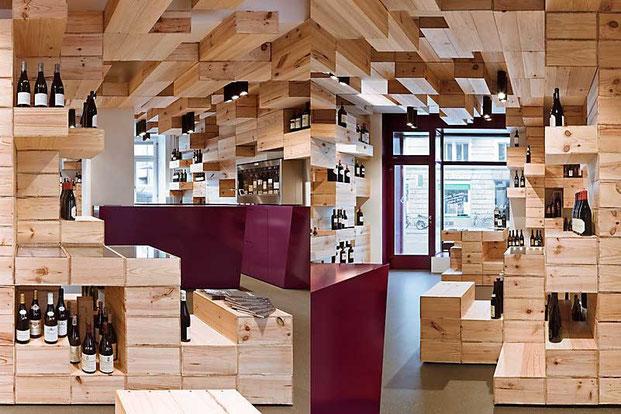 дизайн интерьера магазина в Цюрихе