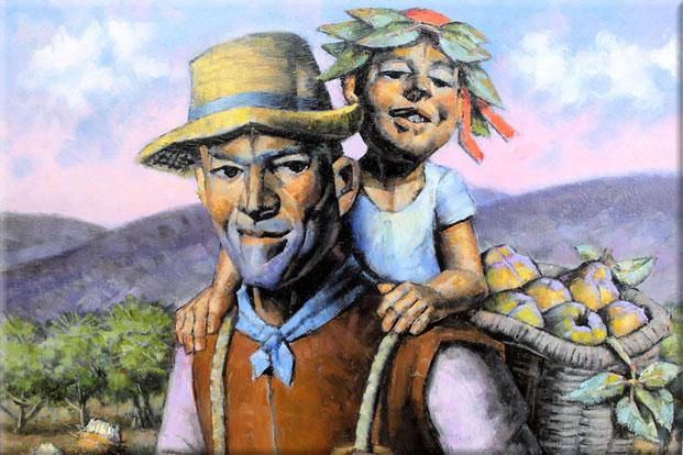 Отец крестьянин
