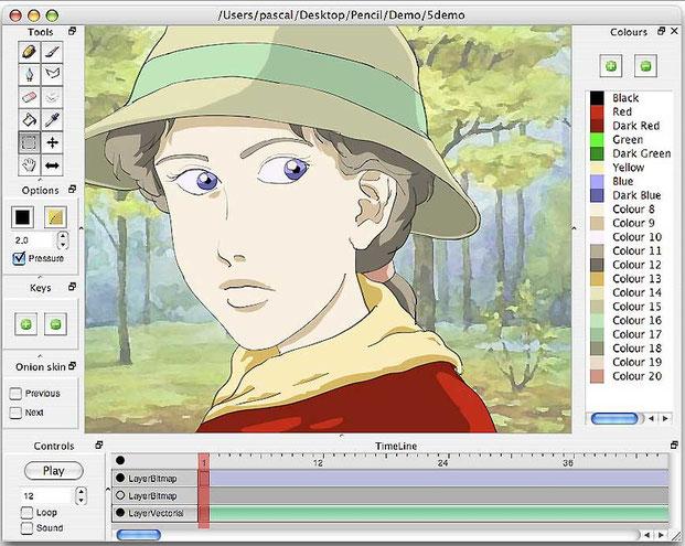 Программа для анимации Карандаш-3