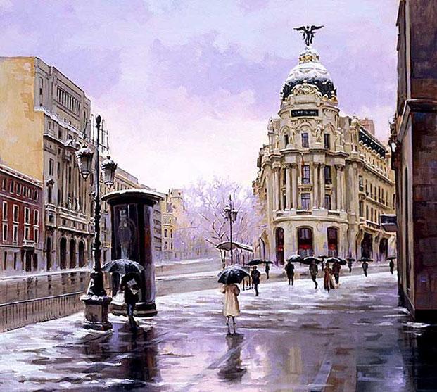 "Ricardo Sanz - ""Снег в Мадриде"""