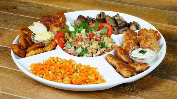 Bio Catering, Antipasti Teller - Leahs Snoopkram