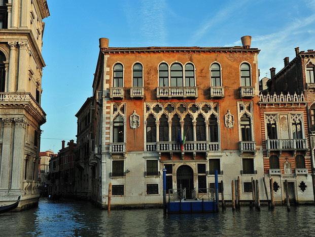 Palazzo mit Seitenkanal
