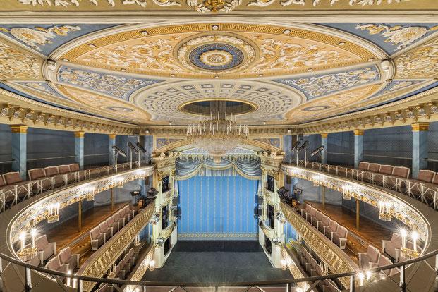 Theater Coburg Fotografie Innen Innenaufnahme Architektur