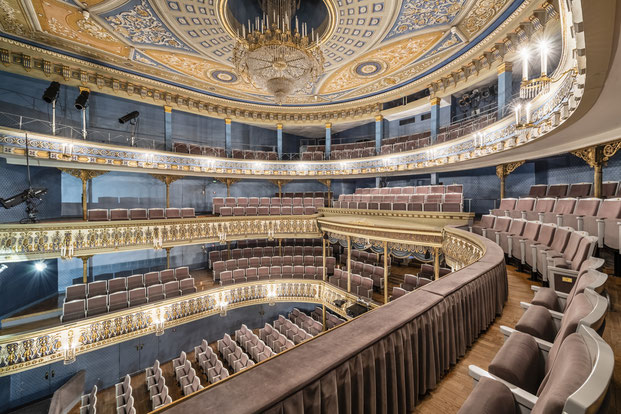 Loge Rang Etage Coburg Architektur Heiko Probst Fotografie Theater