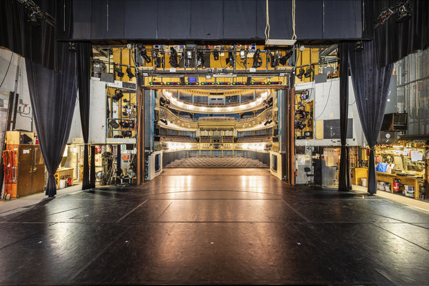 Landestheater Coburg - Technik hinter der Bühne