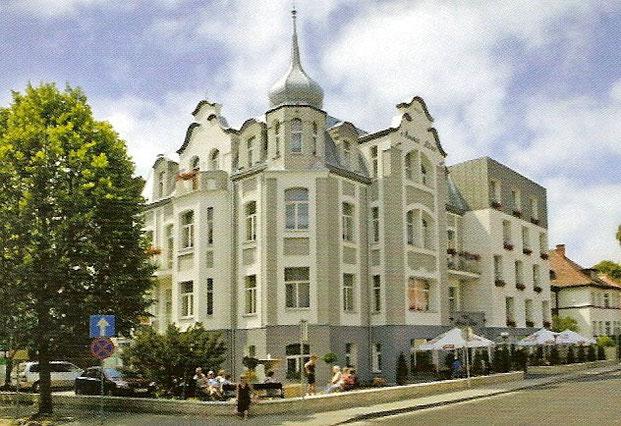 Unser Hotel Villa ANNALISA,erbaut um 1900