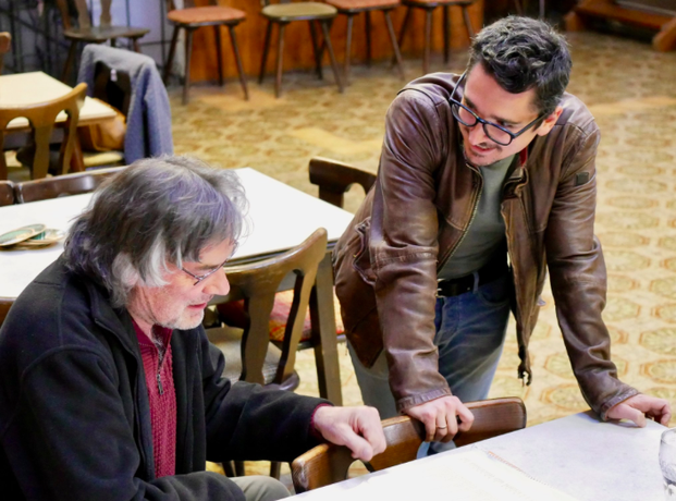 Produktionsfoto Theater Molln 2019, Regisseur u. Autor (c) W. Eduard Sageder
