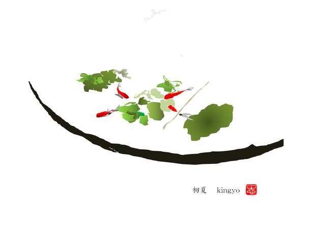 金魚 2016/06/24制作
