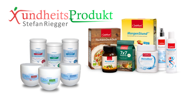 Bild: xundheitsprodukt.ch Auszug aus der Produktpalette