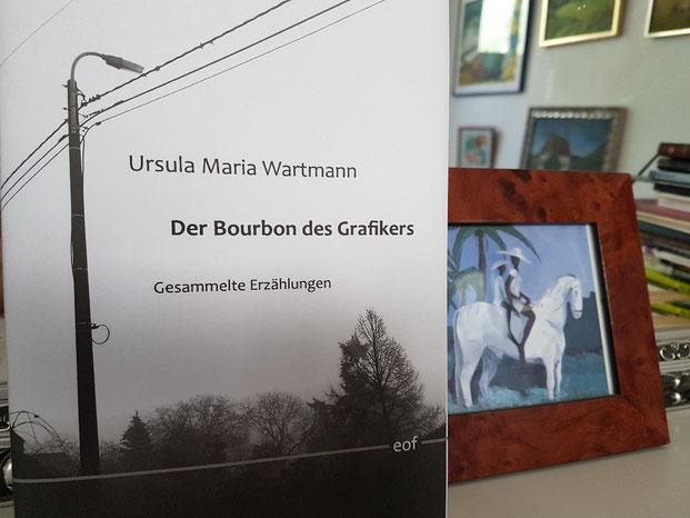 Ursula Maria Wartmann, Der Bourbon des Grafikers, Hrsg: Jürgen Brôcan, edition offenes feld 2019