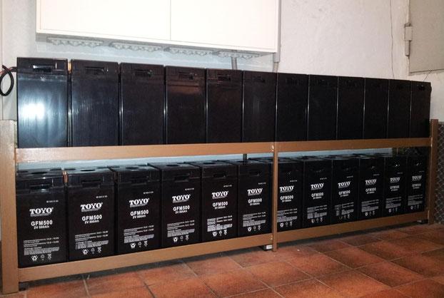 24 kWh - Batteriespeicher