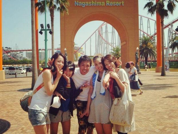 (左)中川選手とご家族