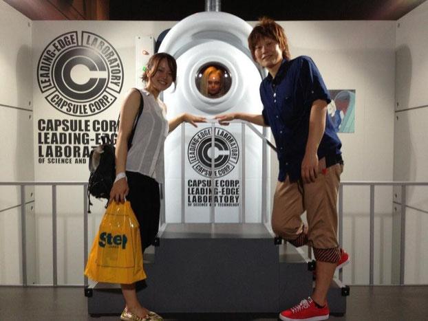 (左)海野マネ(右)高田選手