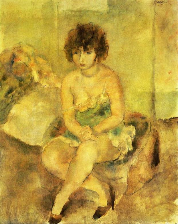 《ルーシー・クローグの肖像》1925年