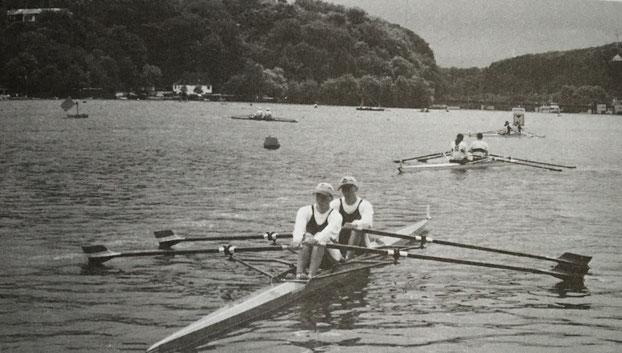 Jan-Oliver Malonn und Jan Stepponat emrderten 1994 d\e Bronzemedaille auf der deutschen Jugendmeisterschaft in Essen.