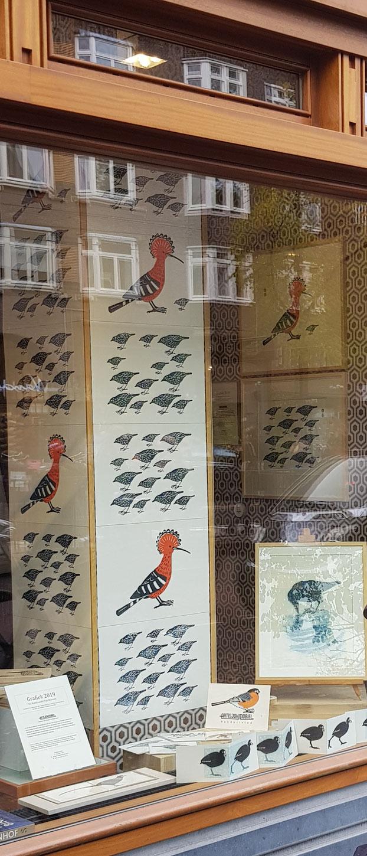Boekhandel Van Rossum met grafiek van Artisjokmobiel