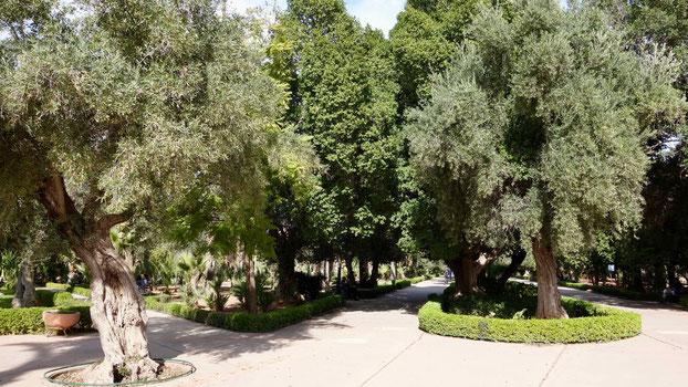 Reisetipps Marrakesch: Park in der Neustadt