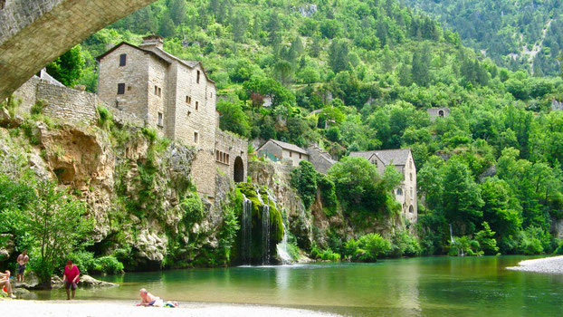 Reiseziel Saint-Chély-du-Tarn, Frankreich